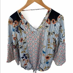 Fig and Flower M Blouse EUC